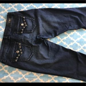 YMI jeans with bling